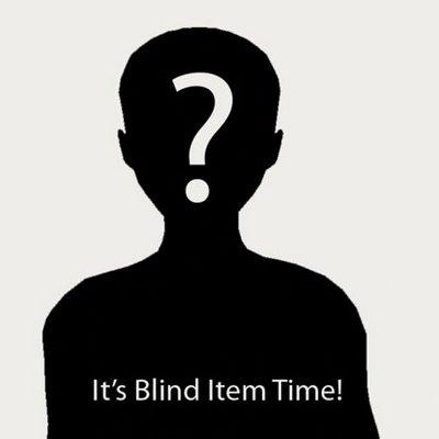 Blind item mania!